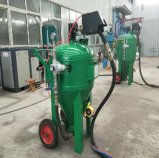 150/225/500/800 Series Cleaning Tools of Sand Blasting Pot for Moving Old Coating