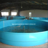 Round Aquaculture FRP Fish Farm Tank