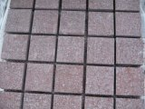 Red Porphyry / China Granite Cube Stone & Pavers, Cut to Size