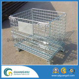 High Quality Hot Sale Folding Roll Metal Storage Cage