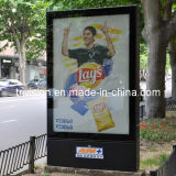 Advertising Street Aluminium Scrolling Billboard Lightbox (TOP-SB011)