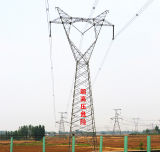 500 Kv Power Transmission Galvanized Iron Tower (Glass type)