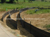 Polypropylene PE Road Safety Silt Barrier Woven Geotextile Fabric Used for Silt Fence Good Price