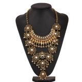 Imitation Women Fashion Gold Pendant Necklace Fashion Jewelry