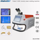 100W 200W Portable Spot Jewelry Laser Soldering Machine Microscope CCD YAG Welder Gold Silver Price Optimical Path Laser Welding Machine