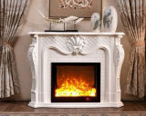 European Classic Hotel Furniture Fireplace Mantel with Decoration in CB Approvals (319B)