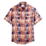 2017 Men′s Fashion Cotton Shirts (ST20130079)