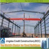 Light Steel Structure Factory Workshop with Crane Beam