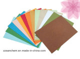 Colourful Leather Grain Embossed Paper