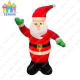 Indoor Party Outdoor LED Light Christmas Inflatable Santa Claus