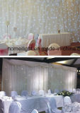 2017 Newest White 4X6m LED RGB Star Curtain for Wedding or Disco