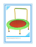 Sld Kids Trampoline with Handle Mini Trampoline for Kids