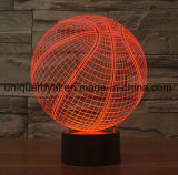 3D Desk Lamp Basketball Night Light LED Lighting