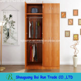 Wood Panel Bedroom Wardrobe Closet
