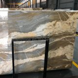 Natural Stone Blue Gold Marble Slab for Floor Wall/Monuments/Countertops/Decoration