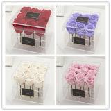 Waterproof Clear Acrylic Rose Flower packaging Box
