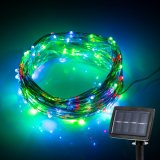 Solar Powered String Lanscape Decorative Light for Garden Christmas Holiday Party Wedding