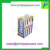 Popular Fashion Logo Printing Cheap Recycle Disposal Folding Catering Paper Packing Meal Airline Food Bag