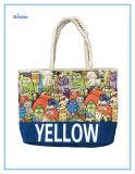 Cheap Promotion Cotton Velvet Printing Hand Bag