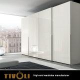 Wholesale Modern Latest Wooden Bedroom Sliding Door Wardrobe TV-0335
