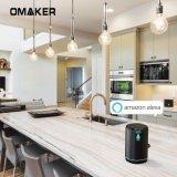 Omaker Wow Handsfree Bluetooth WiFi Ai Intelligence Smart Speaker with Amazon Alexa Voice Control Wireless Multiroom WiFi Portable Speakers in Stock