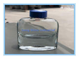 50ml Bakelite Lid. Glass Bottle with Transparent Ink. Ink Bottle with Pen