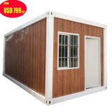 Prefabricated Prefab Foldable Tiny Portable Mobile Modular Movable Luxury Steel Wood/Wooden Storage Shipping Container Villa Building Homes House for Sale