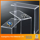 Customized Acrylic Display/Plastic PMMA Perspex Display for Supermarket