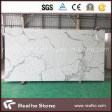 Large Slab Engineered/Artificial Black/Beige/Grey White Quartz Stone for Kitchen/Island Countertop/Bathroom Vanity Top