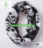 Hot Sale Women′s Fashion Viscose Infinity Scarf Elegant Printed