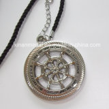 Custom Metal Silver Plated Alloy Necklace Gift