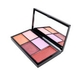 Dry Eye Shadow Type 5 Color Eye Shadow Palette Tin Box Packing with Private Label