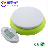 5kg/1g Green Digital Food Scale Kitchen Scale with Bowl