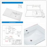 Cupc Wholesale Price Rectangular Counter Top Ceramic Basins (SN1548-90R)