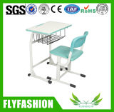 Hot Sale Attractive Single School Desk and Chair for Sale