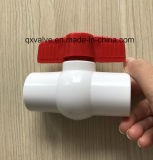 """New Compact PVC Valve 1""""PVC Ball Valve with Threaded or Socket Hot Sales!"""