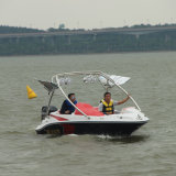 15FT 4.6m New High Performance Outboard Fiberglass Speed Boat with Competitive Price