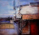 Oil Painting of Abstract-21