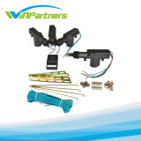 4 Door Remote Control Keyless Entry Central Lock Locking Kit + Car Alarm + Ribbon Kit + Central Motor