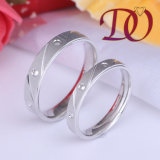 Wholesale Wedding Ring 925 Silver Jewelry Ring for Men and Women