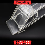8 Deck / Transparent Clear Acrylic Poker Dealer Shoe Acrylic Lunceny Playing Card Dealer Shoes (YM-DS01-3)