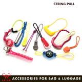 Custom Wholesale Cord Plastic Zipper Puller Handbag Zipper Pulls for Garment