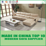Modern Fancy Italian Genuine Leather Office Sofa 3+1+Chaise