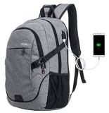 USB Charger Oxford Polyester Casual Fashion Travel School Bag Laptop Backpack