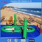 Beach Bouncy Inflatable Volleyball with Trampoline for Sell