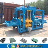 Qt4-18 Full Automatic Cement Hollow Block Making Machine