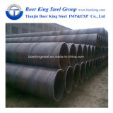 ERW Lasw SSAW Welded Steel Tube and Pipe S235 Ss400 X52