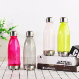 Best Price 650ml Sport Bottle Plastic Sport Water Bottle for Drinking with 201ss Cap