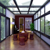 Aluminum Alloy High Quality Garden Green House/Glass Green House/ Conservatory/Sun Room/Gazebo