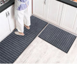 Kitchen Floor Mat Anti-Slip Oil Waterproof Carpet Home Door Mat Sits Resistant to Dirty Door Mat Absorbent Foot Mat